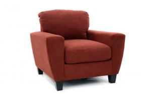 SAGEN RED Armchair textile