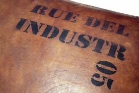 Taburet  textil Sage Taburet - Banca  Industr 05 din lemn masiv shesham si piele de camila