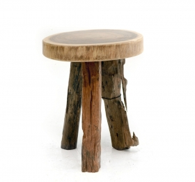 Camera de zi Solid wood stool