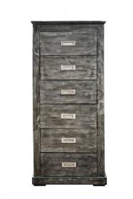 Dulapuri Dulap LATIF din lemn, 6 sertare
