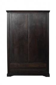 Dulap SAGUN din lemn masiv, 2 usi, 2 sertare Dulap din lemn masiv - PW16-S4
