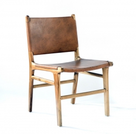Scaun imbracat in material textil - U-SC Chair leather ROPA