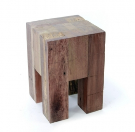 Masute Cafea  REZA Solid wood Stool-Table