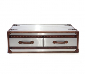 Camera de zi  CUBA coffee table with 2 drawers