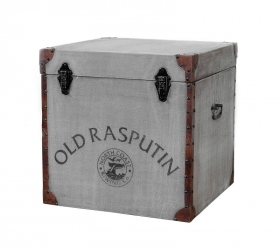 Cufar-taburet stil Industrial - SG-38 Solid wood Old Rasputin chest