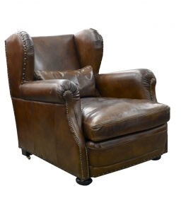Fotolii Vintage leather Armchair