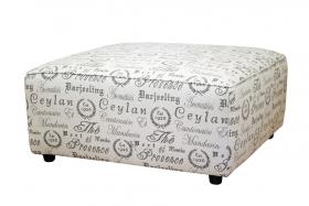Tabureti PROVENCE textile stool