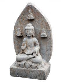 Fantana de gradina - Star Statueta Buddha din piatra