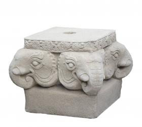 Grilaj metal - Vintage  Suport umbrela Elefant