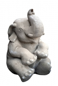 Ghiveci din piatra - T16-PK24V-2 Fantana Elefant - T16-PK13F