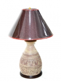 Veioze Terracotta Thai lamp - T16-PL28L
