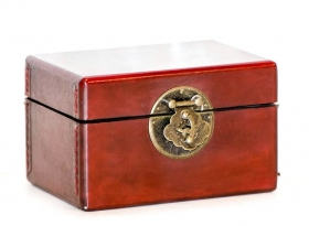 Decoratiuni & Cadouri Toi Jewelry box  Red