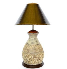 Veioze Terracotta Thai lamp - T16-P29