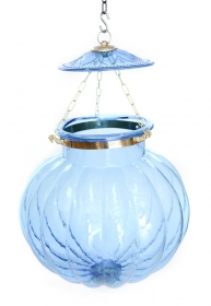 Lampa Industial metal Rust  Blue Ceiling lamp, large size - KD17-22