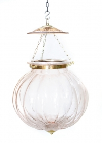 Lampa Industial metal Rust  Peach Ceiling lamp, large size - KD17-22