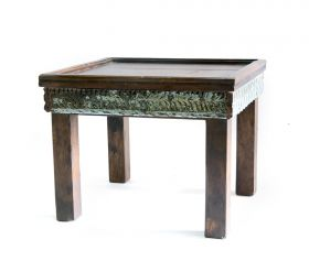 Camera de zi AMODA, Indian solid wood coffee table, Antique