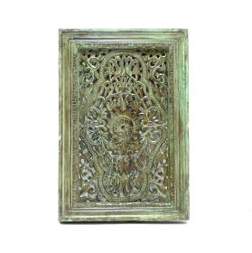 Old India Panou decorativ sculptat