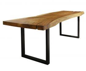 Masa dining din lemn masiv Monobloc 199 cm Masa dining din lemn masiv Monobloc 240 cm