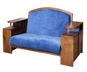 Camera de zi Canapea 2 locuri - MANIS BLUE