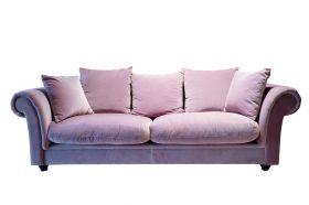 Canapea Union Jack, 2 locuri Canapea 3 locuri, Pink Lounge - CAH15-3FV23