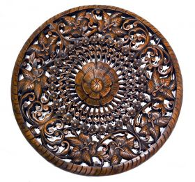Decoratiuni Casa Thailand carved panel - T16-L12