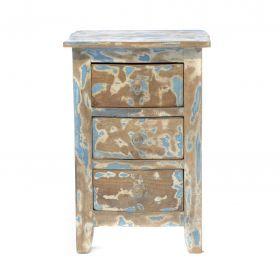 Noptiera din lemn masiv Solid wood bedside cabinet
