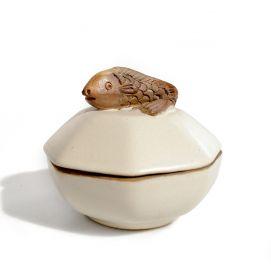 Dulapioare, Cutii, Cosuri, Boluri Bol din ceramica - Peste