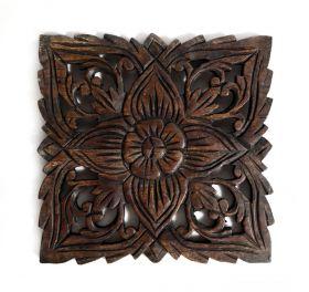 Panou decorativ sculptat Panou din lemn masiv sculptat