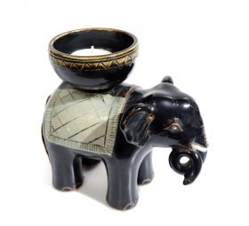 Suport Lumanare Elefant  Candle Holder