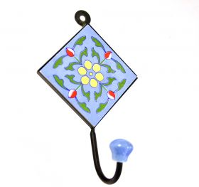 Cuiere Wall hanger, painted ceramic