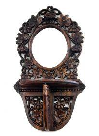 Rame pentru Oglinzi Rama oglinda Thai sculptata, cu suport