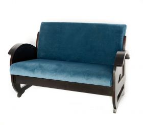 Camera de zi Bagong Blue sofa