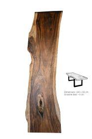 Masa Industriala - O, finisaj honey Solid wood dining table 300 cm