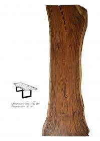 Masa dining din lemn masiv Monobloc 280 cm Masa dining din lemn masiv Monobloc 400 cm