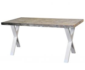 Mobilier Industrial table - WHITE