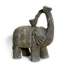 Decoratiuni & Accesorii Gradina Statueta din piatra - Elefant Ru Yi