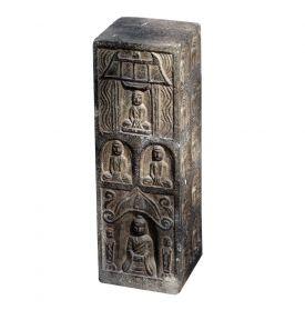 Statuie suport umbrela Elefant  Obiect decorativ din piatra sculptat - Buddha
