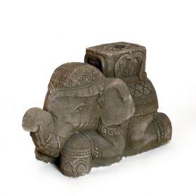 Gradina si Terasa Statuie suport umbrela Elefant