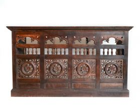 Comoda SHADI din lemn masiv, 6 sertare  Solid wood Antique sideboard
