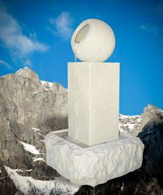 Statuie suport umbrela Elefant  Fantana de gradina - Sand Monolit