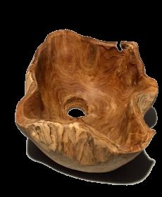 Lavoar din ceramica cu broscute - T16-J154CLAV-1 Lavoar din LEMN-FRD18-VL