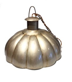 Lampa plafon mare, verde Lampa Metal-KD17-8B