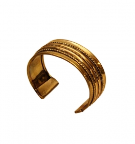 Indian brass Bracelet - GPT15-BRAT1B-4 Indian brass Bracelet - GPT15-BRAT1B-1