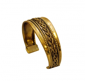 Indian brass Bracelet - GPT15-BRAT1A-2 Indian brass Bracelet - GPT15-BRAT1B-3