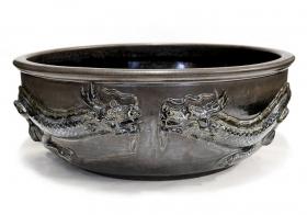 Decoratiuni Casa Lavoar din ceramica cu dragoni - T16-J154DLAV