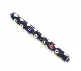 Maner din ceramica  Purple Pen