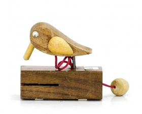 Suport stilou, Elefant - T16-CUT01 Bird from wood