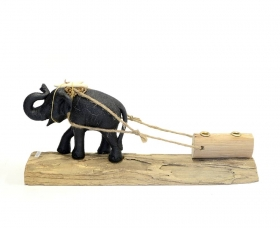 Suport stilou, Elefant - T16-CUT01 Decorative pen holder - T16-CUT01
