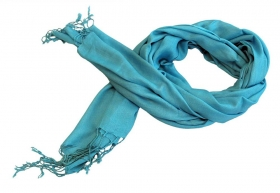 Decoratiuni & Cadouri Indian cotton scarf, 180cm - BZ-15-1