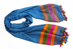 Decoratiuni & Cadouri Indian wool scarf, 200cm - BZ-44-1